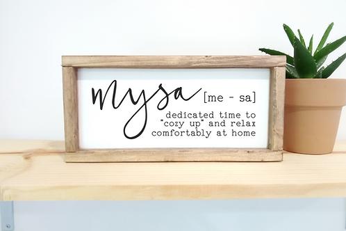 DIY KIT: Mysa - definition