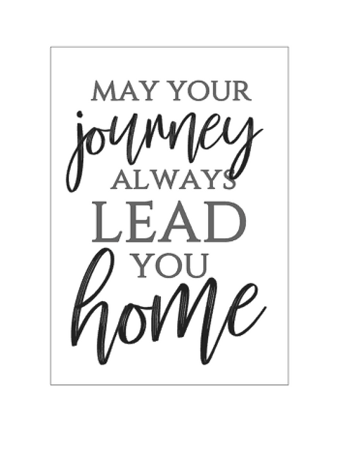 DIY Kit : May Your Journey Always Lead You Home