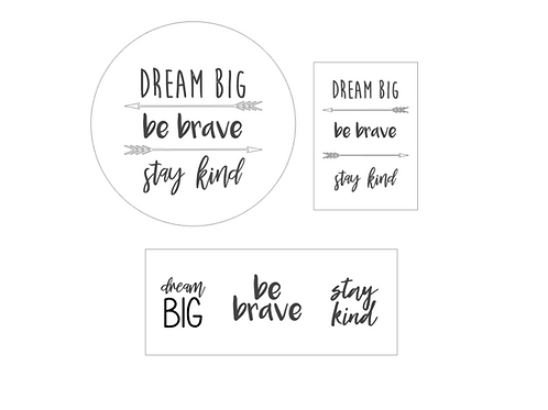 Caledonia CRC: Dream Big - Be Brave - Stay Kind