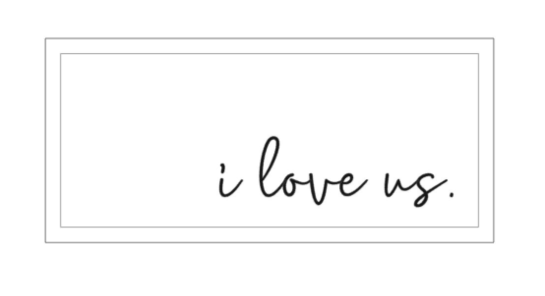 SS - I love us.