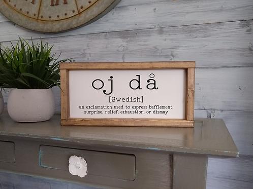 Oj Da - Swedish