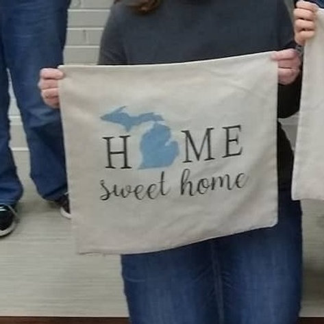 FRIENDSHIP : Home Sweet Home Pillow