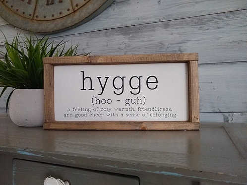 DIY Kit: Hygge - definition and pronunciation