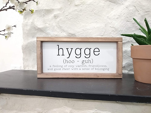 Hygge - definition and pronunciation