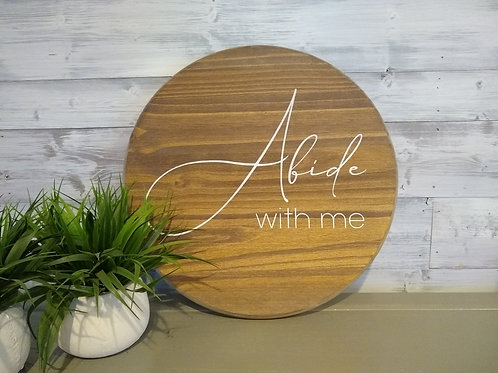 Round : Abide With Me - DIY Kit
