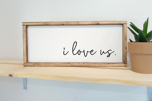 DIY Kit: I Love Us.