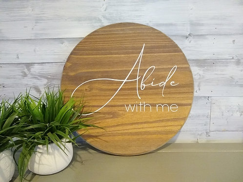 DIY Kit : Abide With Me - Round