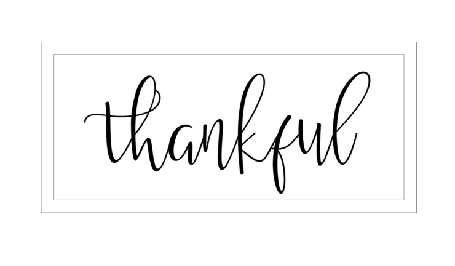 Thankful - New