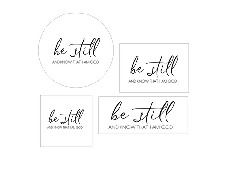 GOLD : Be Still