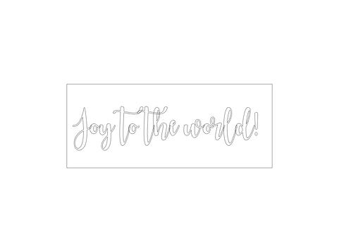 CHRISTMAS: Joy to the World