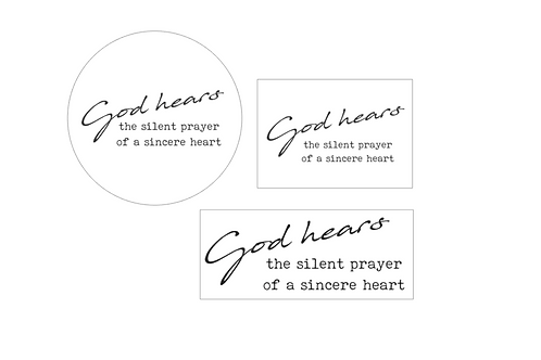 RUBY : God Hears The Silent Prayer Of A Sincere Heart