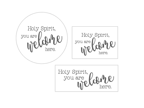PINK : Holy Spirit You Are Welcome Here