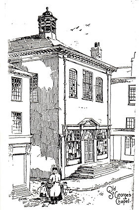 Chapel - drawing of Chapel from Strickla