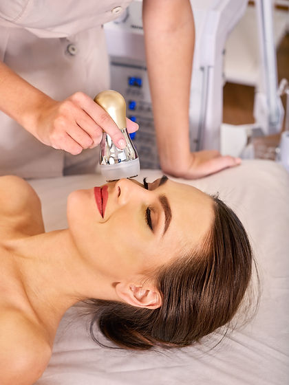 Ultrasound therapy for skin tightening i