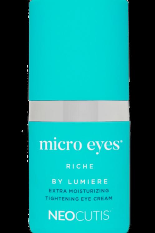 Neocutis  MICRO EYES RICHE by LUMIÈRE  Extra Moisturizing Tightening Eye Cream
