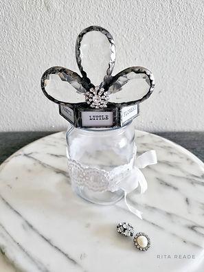 Crown in a jar