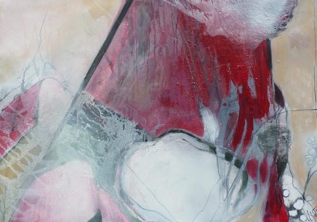 """ rose garden 1"",  70x100, 2014, acryl-mischtechnik"