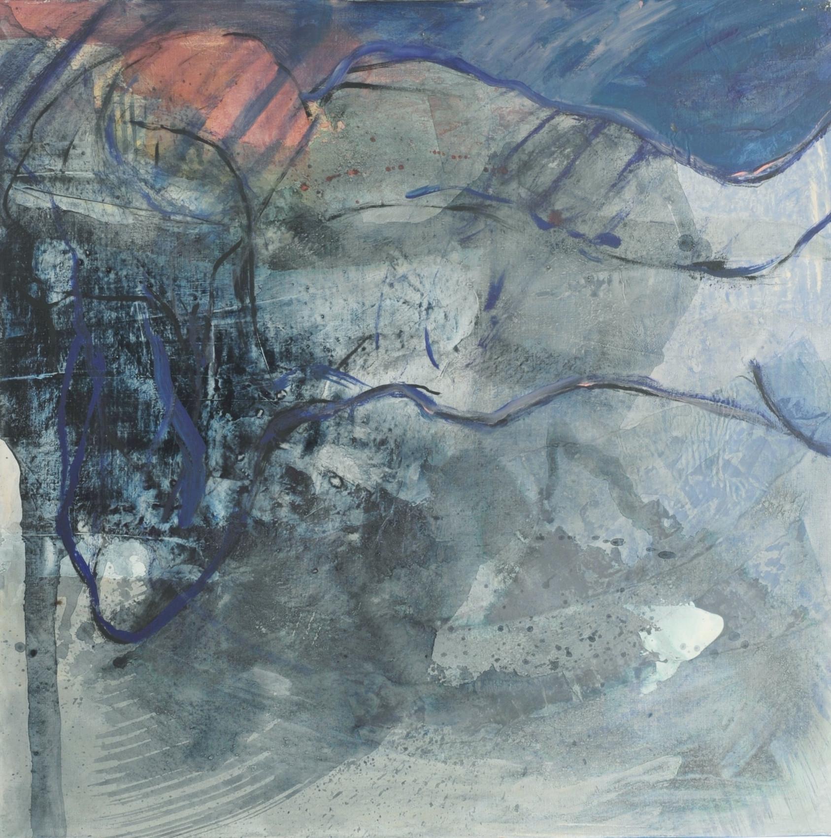 body and soul 1, 2013, 80x80, acryl auf leinwand