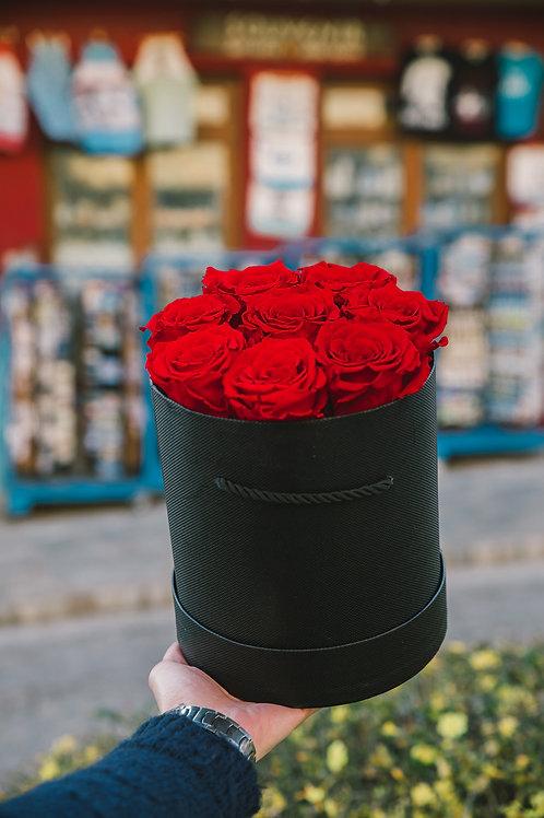 Σύνθεση με 8 Eternity Roses