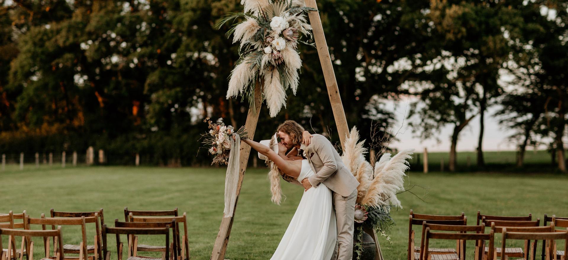 Golden Hour Wedding