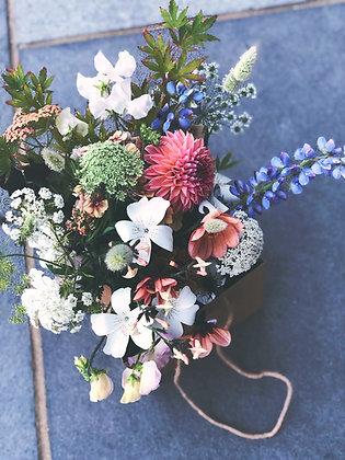 Seasonal Flower Gift Bag