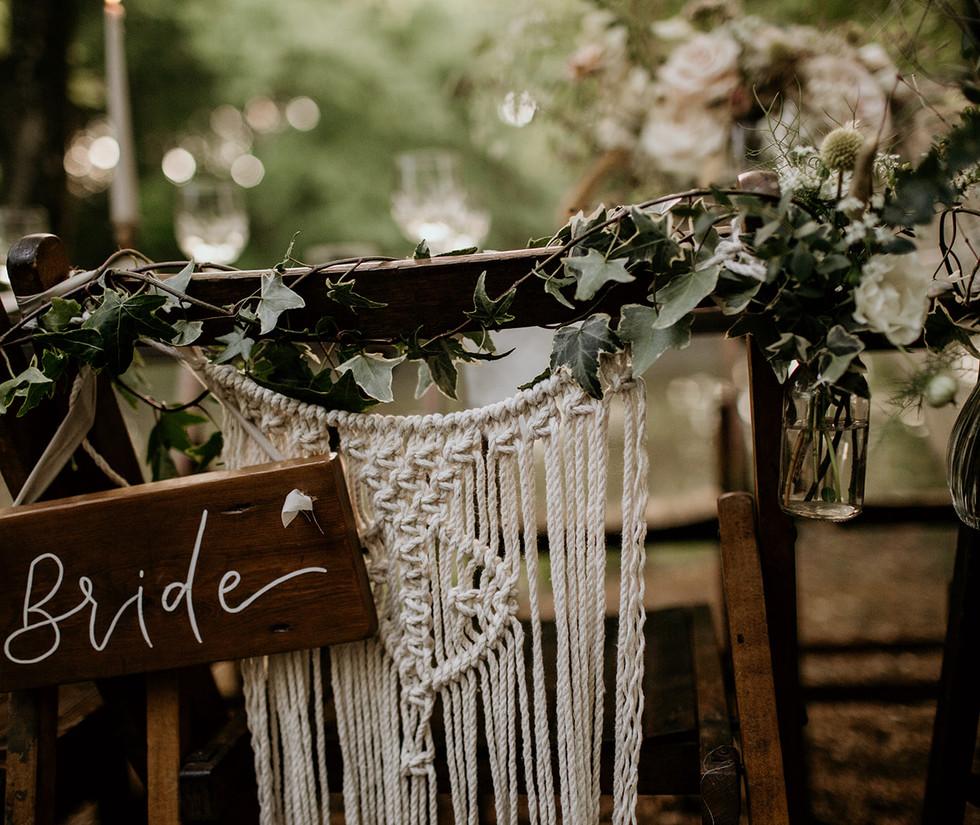 Eco Woodland Wedding Shoot
