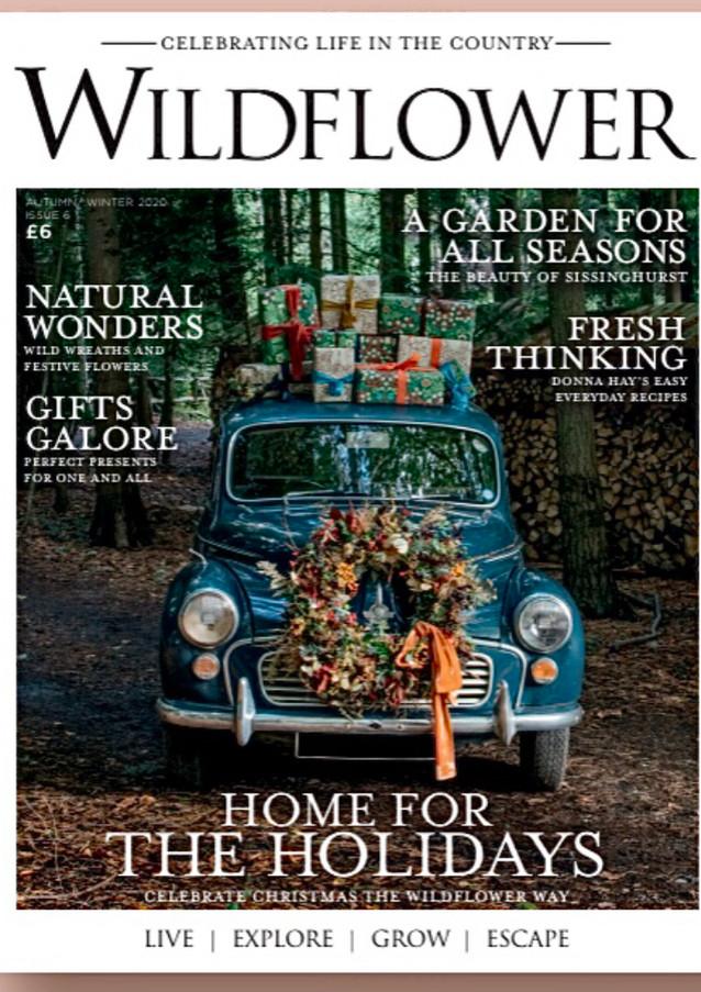 Cover of Wildflower Magazine