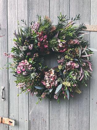 Luxury Hydrangea Wreath