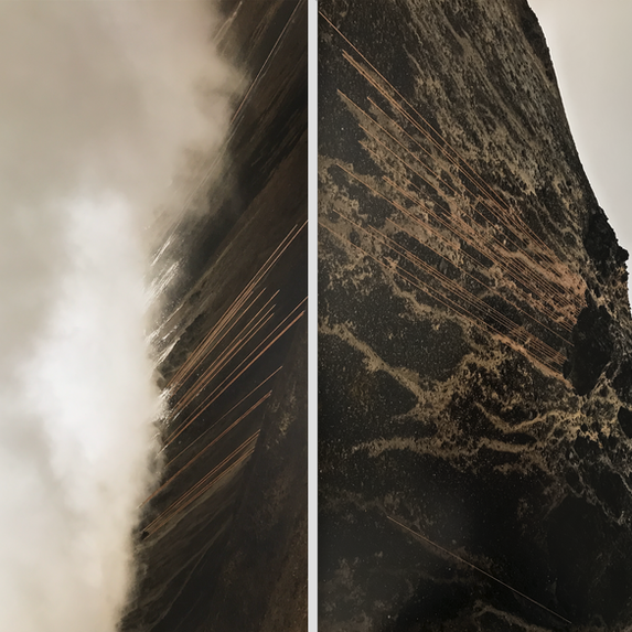 Volcán, díptico (2018)