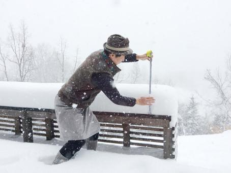 今日のみずたまカフェ【大雪が降った】篇