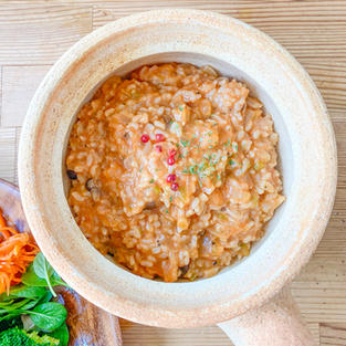 玄米のリゾット