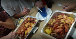 Seafood Mix with Customers.JPG