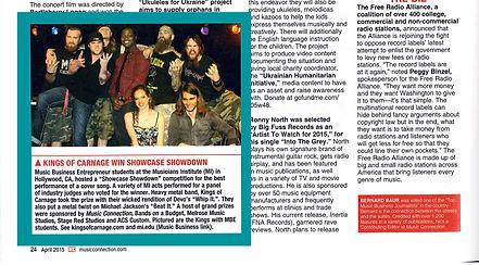 Raysa featured on Music Connectio magazine Rayssa music singer artist musician rayssamusic rayssapinkmusic rayssa gomes