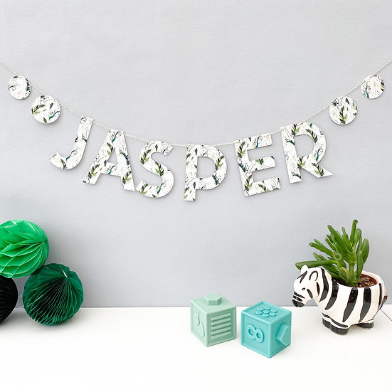 Light Tropical Name Bunting