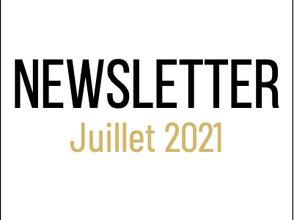 📰 Newsletter Juillet 2021