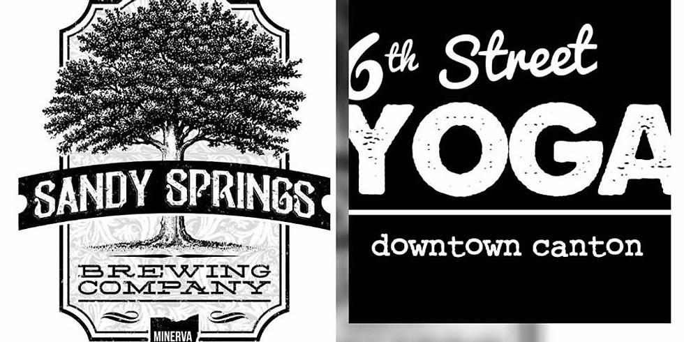 Yoga at Sandy Springs Brewing