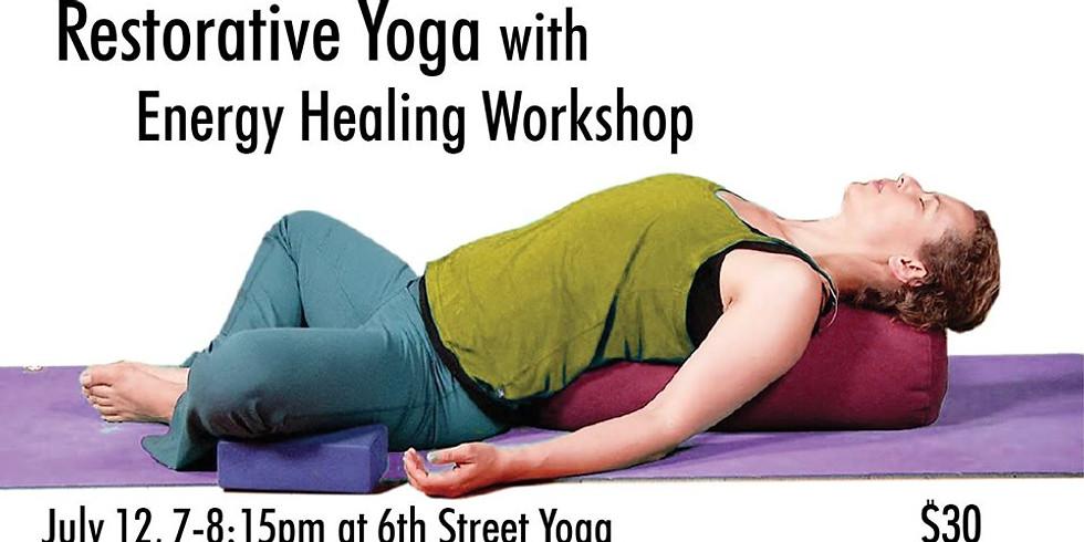 Restorative Yoga w/NRG Healing
