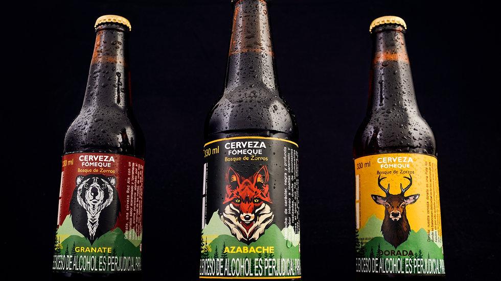 Cerveza artesanal Fómeque X unidad botella