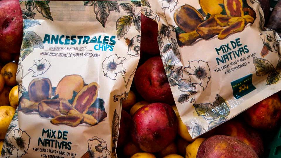 Papas chips nativas - UtopíaBio