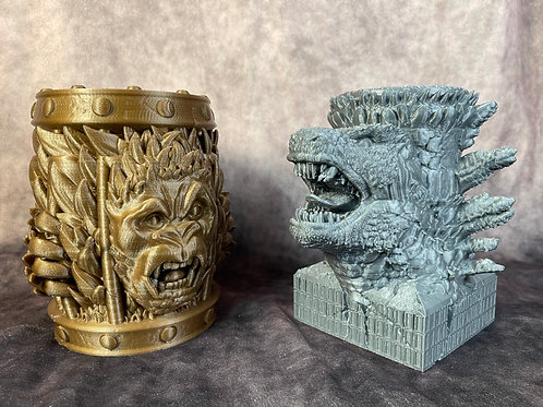 Kong vs Godzilla Can Holders