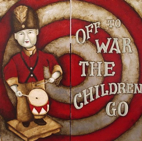 off to war the children go