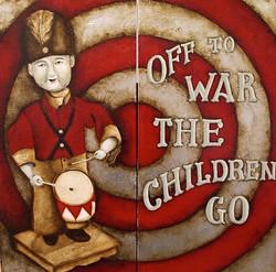 off to war the children go