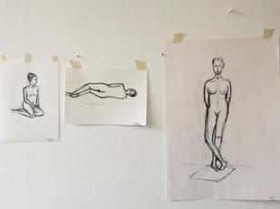 Nude Art w/ Charcoal