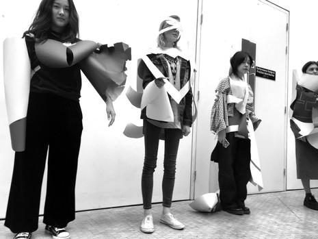 CSM Paper Fashion Show