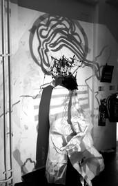 Textile Projection Exhibition