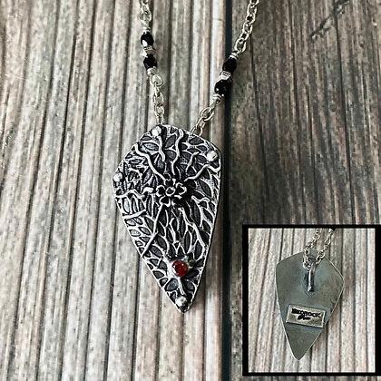 Textured Fine Silver Pendant