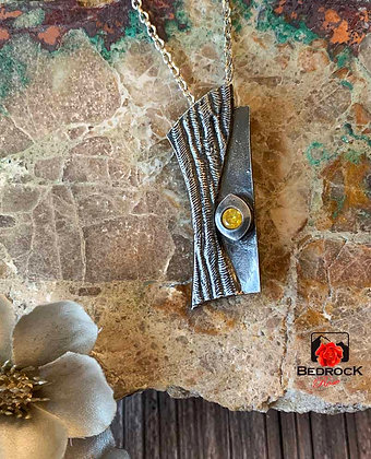 Chic Handcrafted Fine Silver Pendant