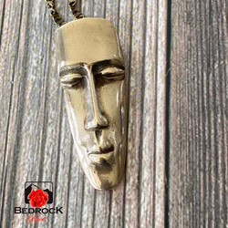 South-Pacific-Tribal-Mask-Bronze-Pendant
