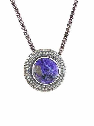 Picturesque Purple Chariote Pendant