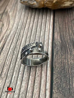 Spectacular Sterling Fused Ring